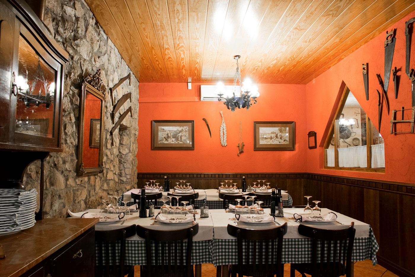 Restaurante Masía Cervelló en Fontscaldes