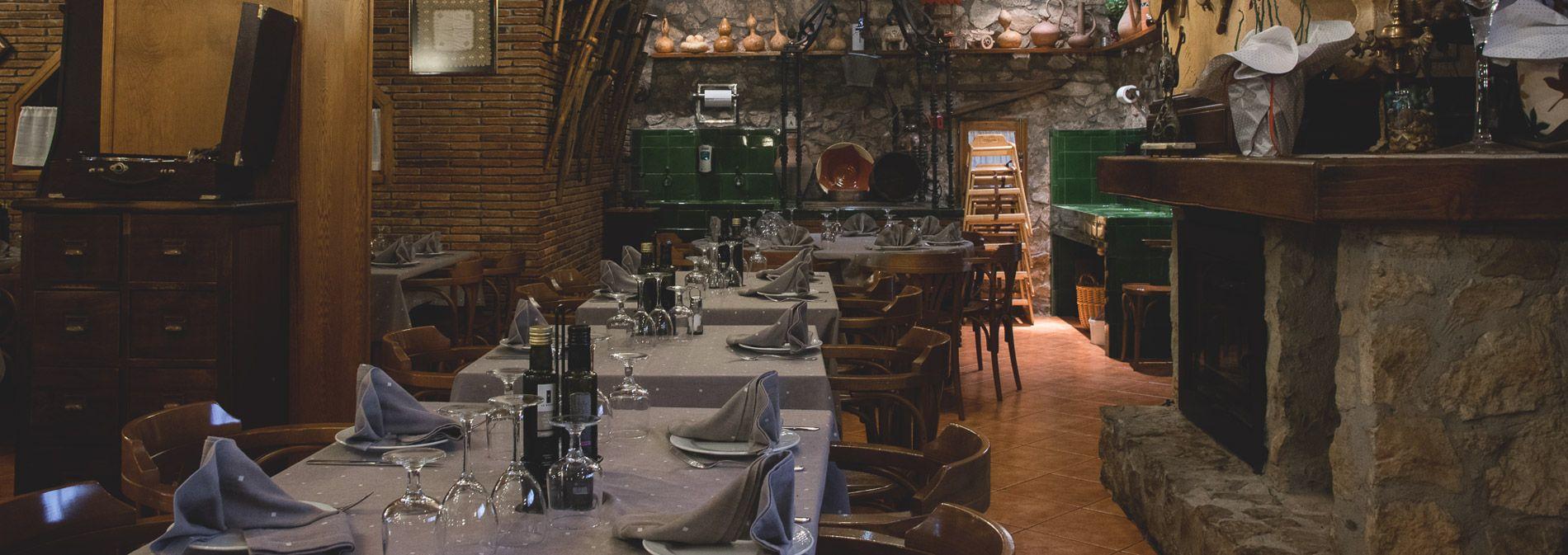 Salons privats per a celebracions i sopars d'empresa